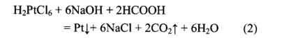 钯铂炭废催化剂中回收提取金属钯铂方法(三)